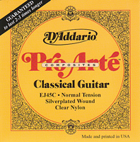 D'Addario Pro Arte EJ45C Classical Guitar Strings - normal tension